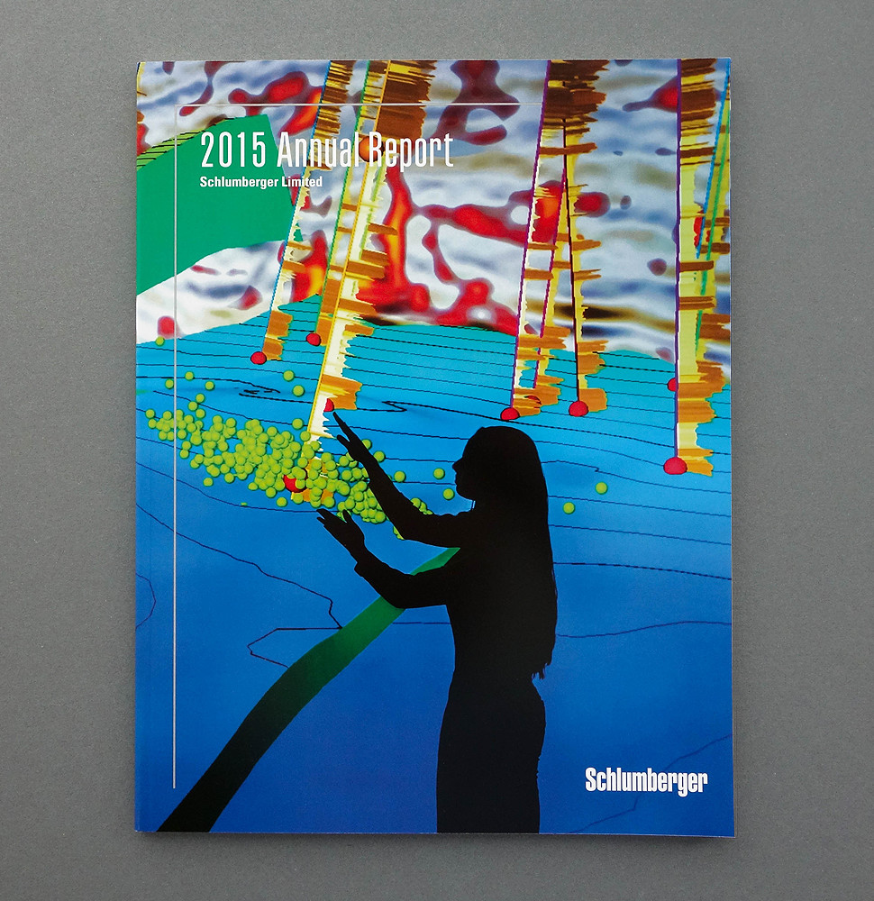 Schlumberger Annual Report by Herring Design