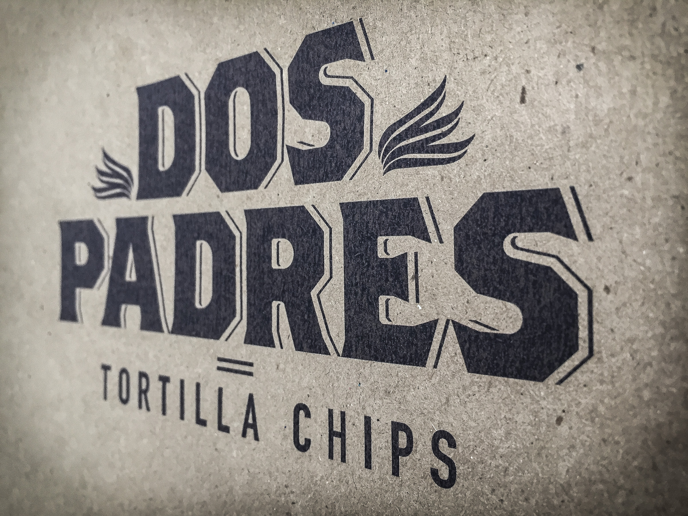 Dos Padres identity by Herring Design