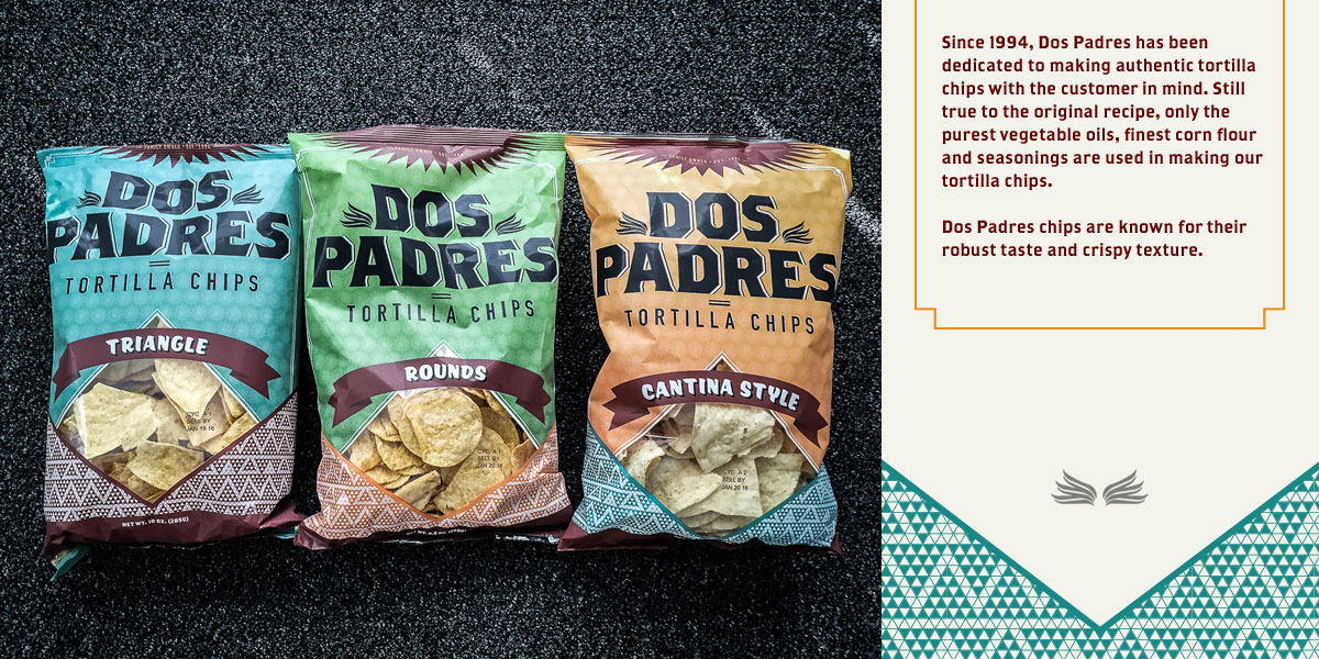 Dos Padres packaging by Herring Design