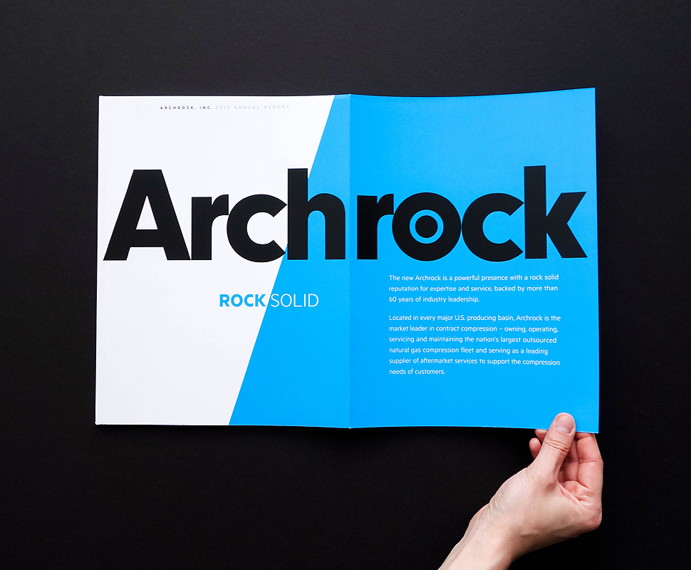Archrock Annual Report by Herring Design
