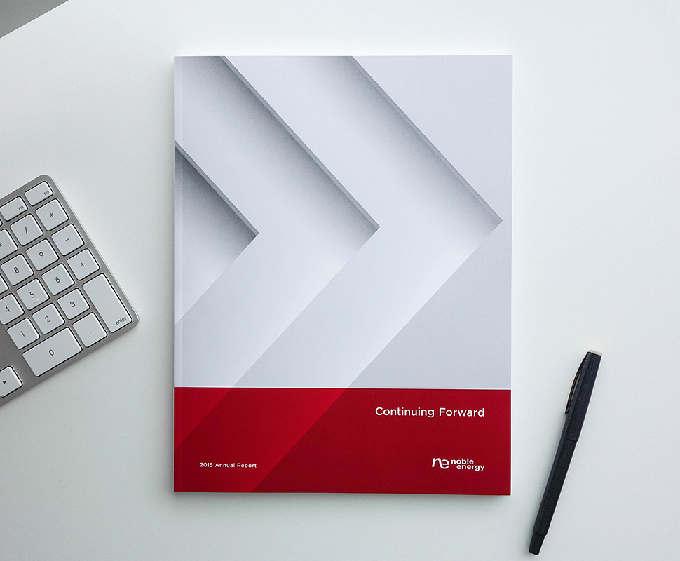 Noble Energy Annual Report by Herring Design